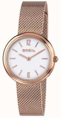 Breil | cinturino a rete in oro rosa con iris donna | TW1778