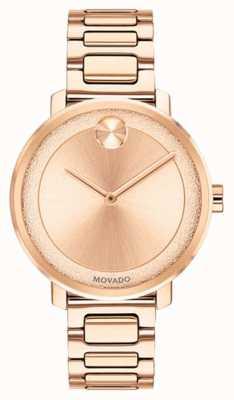 Movado Grassetto | orologio placcato oro rosa | 3600503