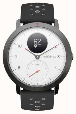 Withings Cinturino in silicone nero hr sport 40mm quadrante bianco HWA03B-40WHITE-SPORT-ALL-INTER