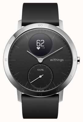 Withings Cinturino in acciaio nero 40 mm in acciaio HWA03B-40BLACK-ALL-INTER