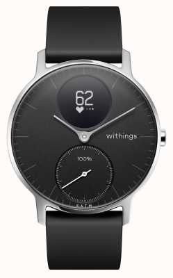 Withings Cinturino in acciaio nero 36 mm in acciaio HWA03B-36BLACK-ALL-INTER