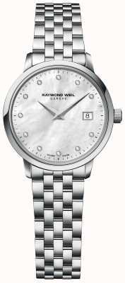 Raymond Weil | donna toccata diamante | bracciale in acciaio inossidabile | 5985-ST-97081