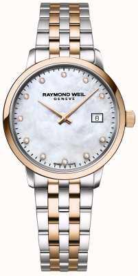 Raymond Weil | diamante toccata da donna | acciaio inossidabile bicolore | 5985-SP5-97081