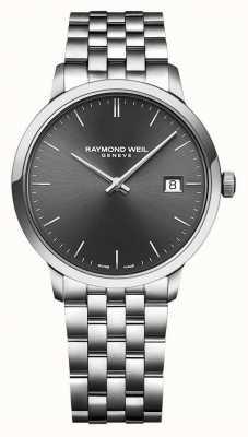 Raymond Weil | toccata da uomo | bracciale in acciaio inossidabile quadrante grigio | 5485-ST-60001