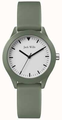 Jack Wills | cinturino in caucciù grigio | JW008FGFG