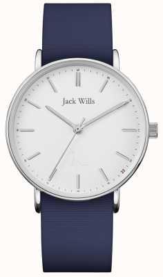 Jack Wills | cinturino in silicone blu sandhill da donna | JW018WHNV