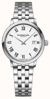 Raymond Weil | bracciale da donna toccata in acciaio | quadrante bianco | 5985-ST-00300