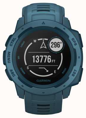 Garmin Cinturino in silicone gps esterno blu lago istinto 010-02064-04
