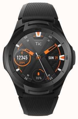 TicWatch S2 | smartwatch di mezzanotte | cinturino in silicone nero 131585-WG12016-BLK