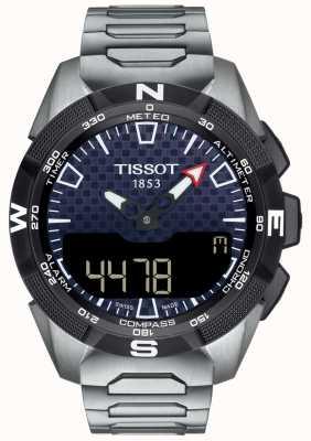 Tissot | mens t-touch expert solar ii | braccialetto di titanio | T1104204405100