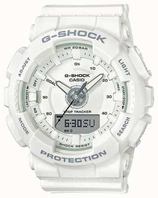 Casio | donna g-shock in resina | cinturino bianco | GMA-S130-7AER