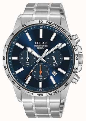 Pulsar   orologio sportivo da uomo in acciaio inossidabile PT3995X1