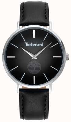 Timberland | mens rangeley | cinturino in pelle nera | quadrante nero | 15514JS/02