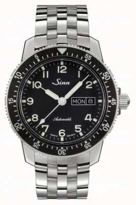 Sinn 104 st sa un classico orologio da polso con cinturino in acciaio inossidabile 104.011 BRACELET