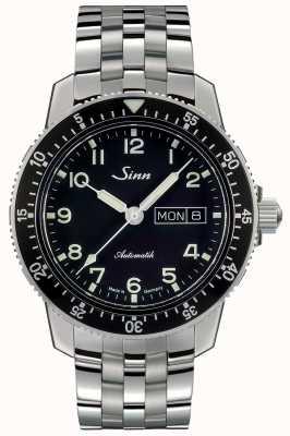 Sinn 104 st sa un classico bracciale in acciaio con cinturino in acciaio 104.011 FINE LINK BRACELET