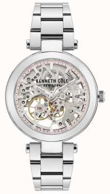 Kenneth Cole | donna automatica | bracciale in acciaio inossidabile | quadrante argentato KC50799001