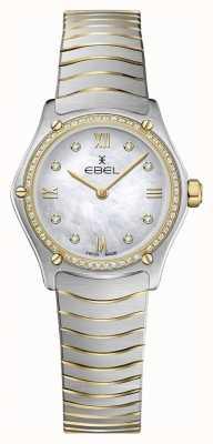 EBEL Womens sport classic 53 diamanti in oro giallo 18 carati 1216412A