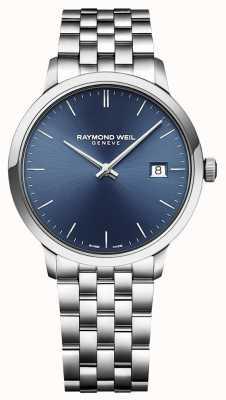 Raymond Weil | mens toccata | acciaio inossidabile classico | quadrante blu | 5485-ST-50001