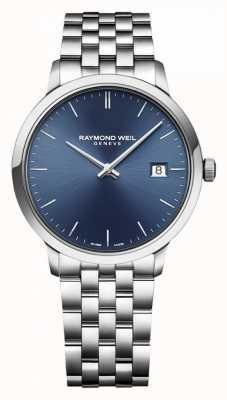 Raymond Weil | toccata da uomo | acciaio inossidabile classico | quadrante blu | 5485-ST-50001