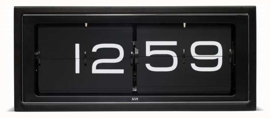 Leff Amsterdam | orologio in mattoni neri | LT15401