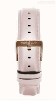 Weird Ape Cinturino in pelle rosa 16mm solo fibbia in oro rosa ST01-000112