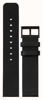 Leff Amsterdam | cinturino in pelle nera | fibbia nera | LT75012-STRAP