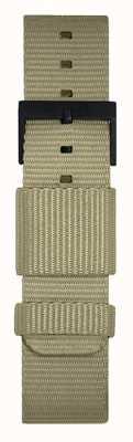 Leff Amsterdam | cinturino grigio nato | fibbia nera | LT75052-STRAP