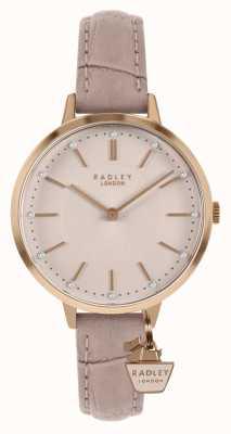 Radley | cinturino in pelle da donna | quadrante rosa | RY2802