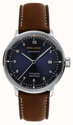 Iron Annie Bauhaus | automatico | cinturino in pelle marrone | 5056-3