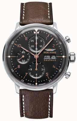 Iron Annie Bauhaus | automatico | cronografo | quadrante nero 5018-2