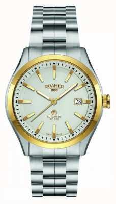 Roamer | automatico rd100 | bracciale in acciaio inossidabile quadrante bianco | 951660 47 15 90