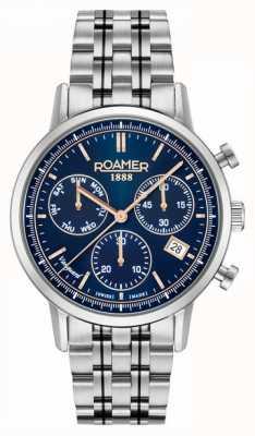 Roamer | uomo | avanguardia cronografo | bracciale in acciaio inossidabile 975819-41-45-90