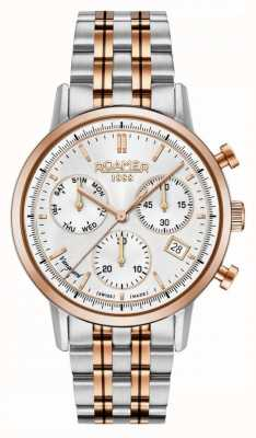 Roamer | uomo | avanguardia cronografo | acciaio inossidabile bicolore | 975819 49 15 90