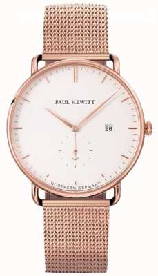 Paul Hewitt Mens analogico in acciaio inossidabile PH-TGA-R-W-4S