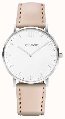 Paul Hewitt | linea marinaio uomo | cinturino in pelle beige | PH-SA-R-5M-W-22S