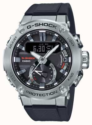 Casio G-steel g-shock bluetooth link 200m wr cinturino in gomma GST-B200-1AER