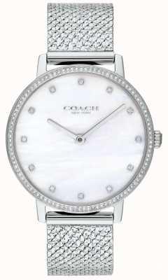 Coach | donne | audrey | maglia di acciaio inossidabile | quadrante perla | 14503358