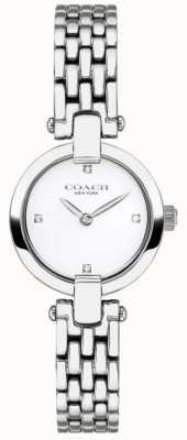 Coach | donne | chrystie | bracciale in acciaio | quadrante bianco | 14503390