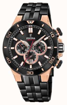 Festina Chrono bike 2019 special edition | bracciale ip nero F20451/1