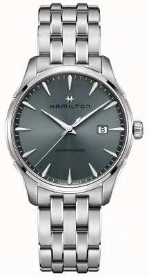 Hamilton | jazzmaster | bracciale in acciaio inossidabile | quadrante nero / grigio | H32451142