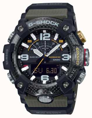 Casio Mudmaster in carbonio | cronometro | Bluetooth GG-B100-1A3ER