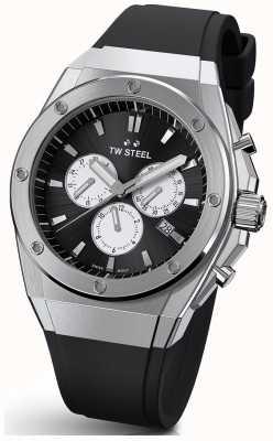 TW Steel | ceo tech | edizione limitata | cronografo | gomma nera | CE4041