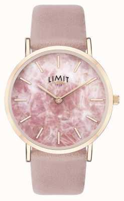 Limit | giardino segreto femminile | cinturino in pelle rosa | quadrante rosa | 60050.73