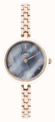 Limit | bracciale donna in oro rosa | quadrante blu | 60064.01
