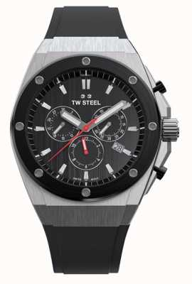 TW Steel Ceo tech | cronografo | quadrante nero | cinturino in caucciù nero CE4042