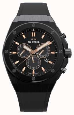 TW Steel | ceo tech | edizione limitata | cronografo | gomma nera | CE4044