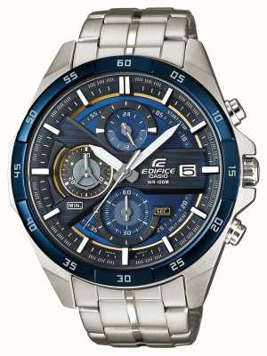 Casio | cronografo edificio | acciaio inossidabile | quadrante blu | EFR-556DB-2AVUEF