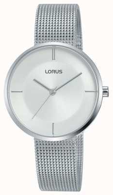 Lorus | braccialetto da donna in acciaio inossidabile | quadrante argento | RG257QX9
