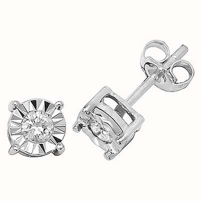 Diamond Earrings ED145W