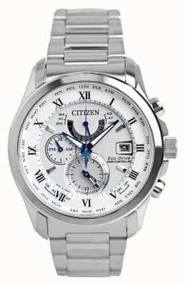 Citizen | mens eco-drive radio controllato a | acciaio inossidabile AT9081-89A